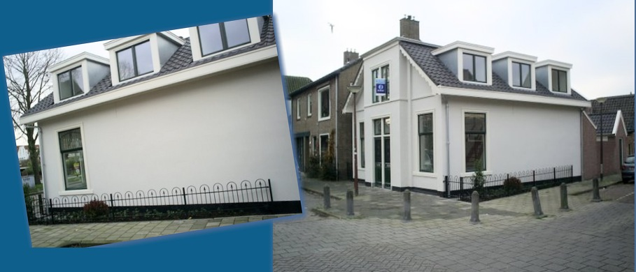 Verbouwing, renovatie aan de Westerweg